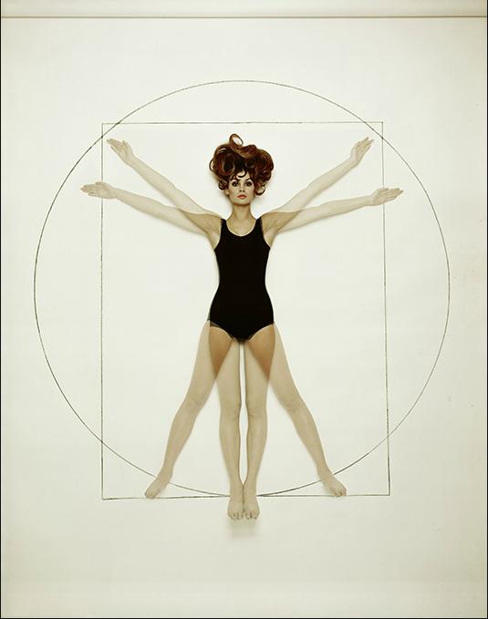 Melvin Sokolsky, Harper Bazaar, Da Vinci.png